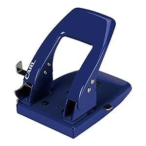 カール事務器 穴あけパンチ 2穴 50枚 ブルー SD-85-B