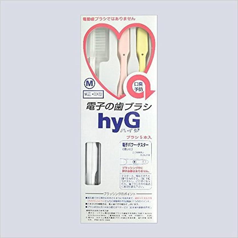 海上アジア廃棄電子の歯ブラシ ハイジ(hyG)?本体<ブラシの硬さ:Mふつう> (※こちらは「本体」です )?hyG-DX型