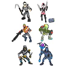 Fortnite Battle Royale Collection: Best of Solo -Skull Trooper (Purple), Magnus, Musha, Wingman, A.I.M. & Cloaked Shadow