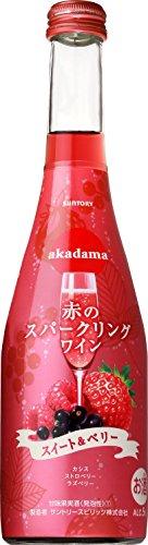 赤のスパークリングワイン スイート&ベリー 360ml