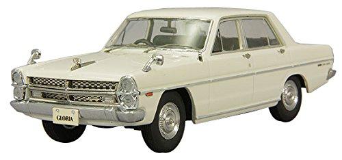 ENIF 1/43 日産 グロリア (PA30) スーパーDX 1968 アイボリー 完成品