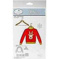 Elizabeth Craft Designs 1240 Metal Die Winter Sweater 3.7X3.1 [並行輸入品]