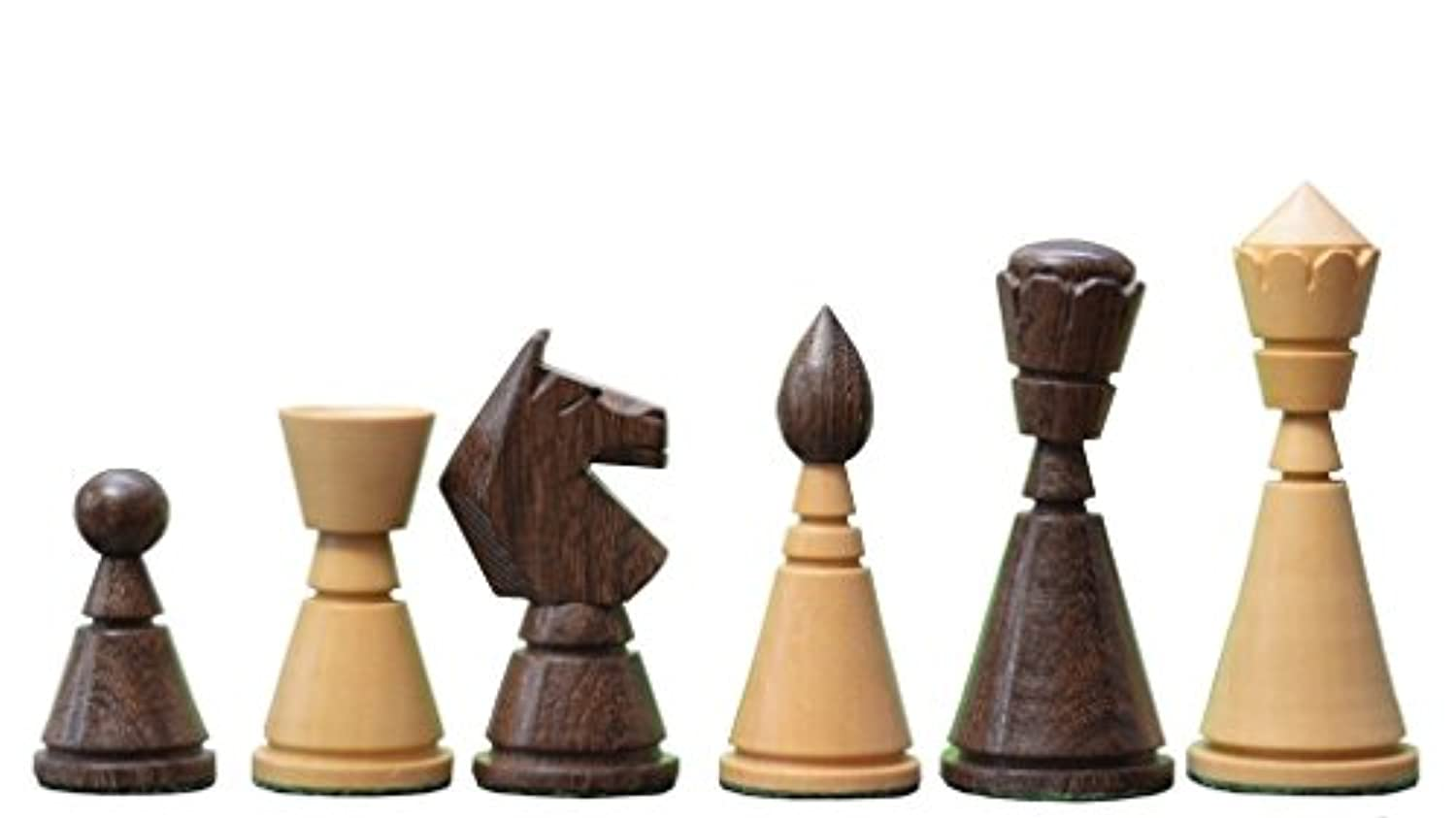 Chessbazaar Reproduced Antique Series Wooden Chess Pieces In Shesham & Box Wood