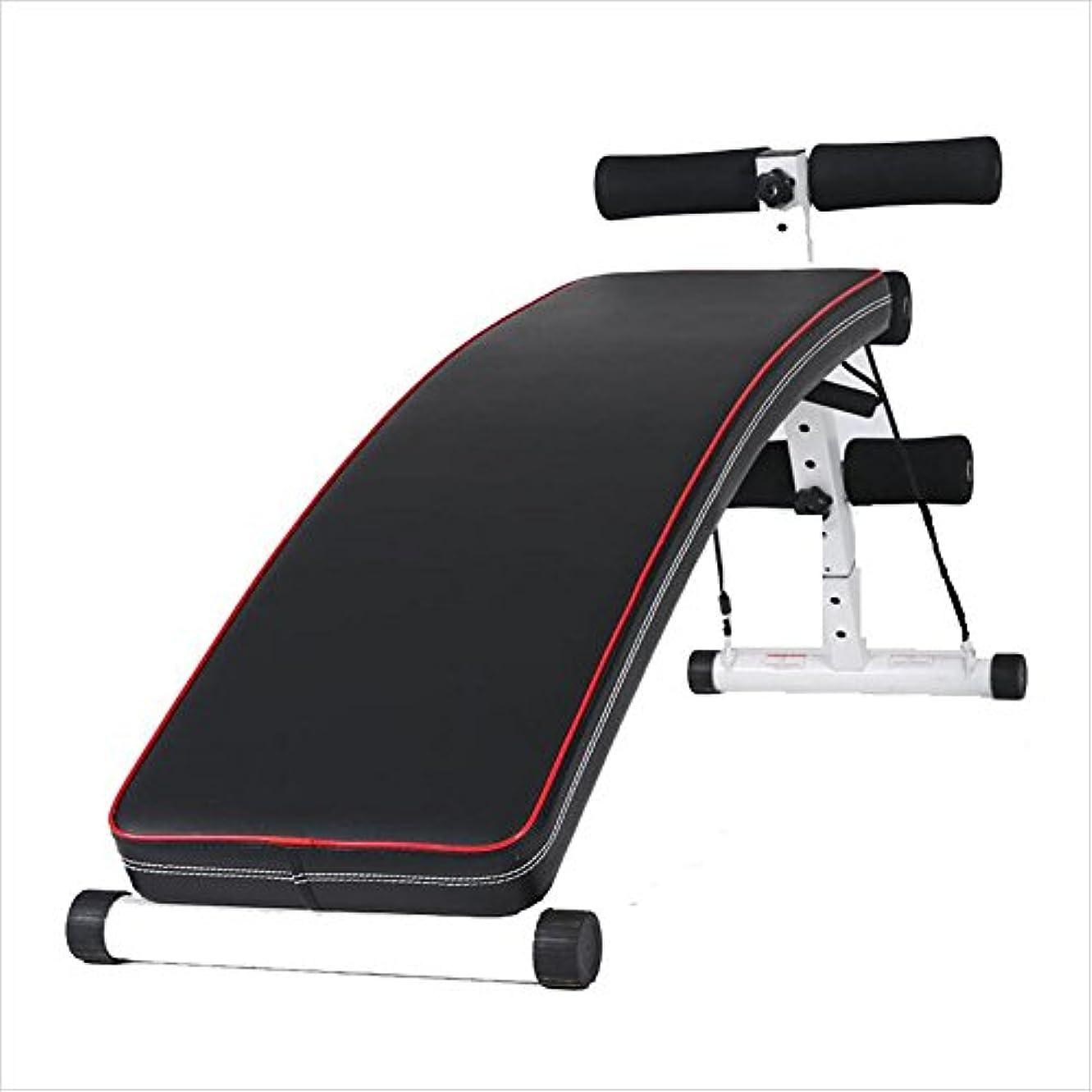 おじいちゃん世論調査一部腹筋 健康器具 仰臥ボード腹筋フィットネス機器ホーム腹部多機能腹筋ダンベルベンチ該当するフィットネストレーナーエクササイザ腹筋機