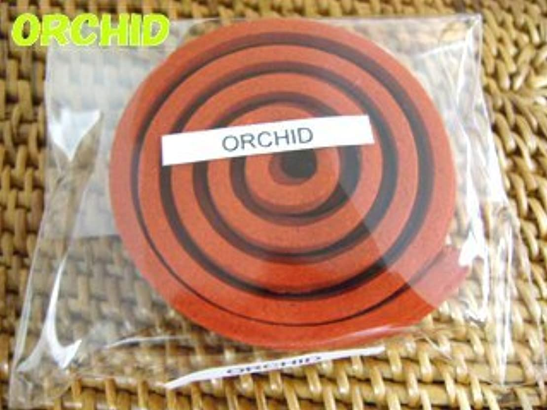 デンマーク語販売計画戦術THAI INCENSE タイのうずまき香COILS INCENSE【ORCHID オーキッド】