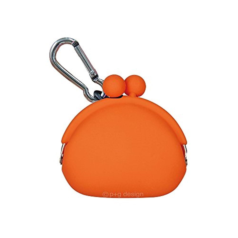 (ピージーデザイン) p+g design シリコン がまぐち ポチビ POCHIBI-Orange【0351】
