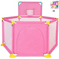 ベビープレイペン オックスフォード布フロアマットベビーフェンスは、子供の屋内遊び場のおもちゃの家を増やす (色 : Style3)