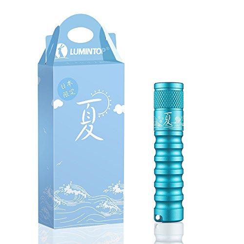 【日本限定】LUMINTOP 夏 キーライト LED懐中電灯 最大120ルーメン 実用点灯36時間 3モード IPX8防水 1.5M耐衝撃 単4電池対応 ギフト包装 【五年保証】