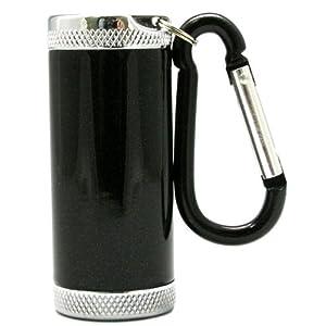 アドミラル産業 携帯灰皿 シリンダー5 カラビナ付き ブラック 81590002
