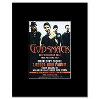 GODSMACK - London 2012 Mini Poster - 13.5x10cm