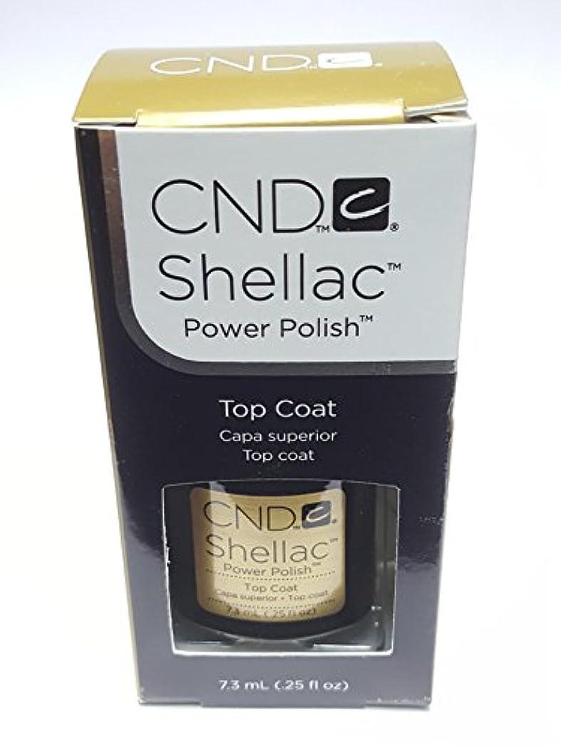 小人悪い容赦ないCND シーエヌディー shellac シェラック パワーポリッシュ UVトップコート 7.3ml 炭酸泉タブレット1個付き