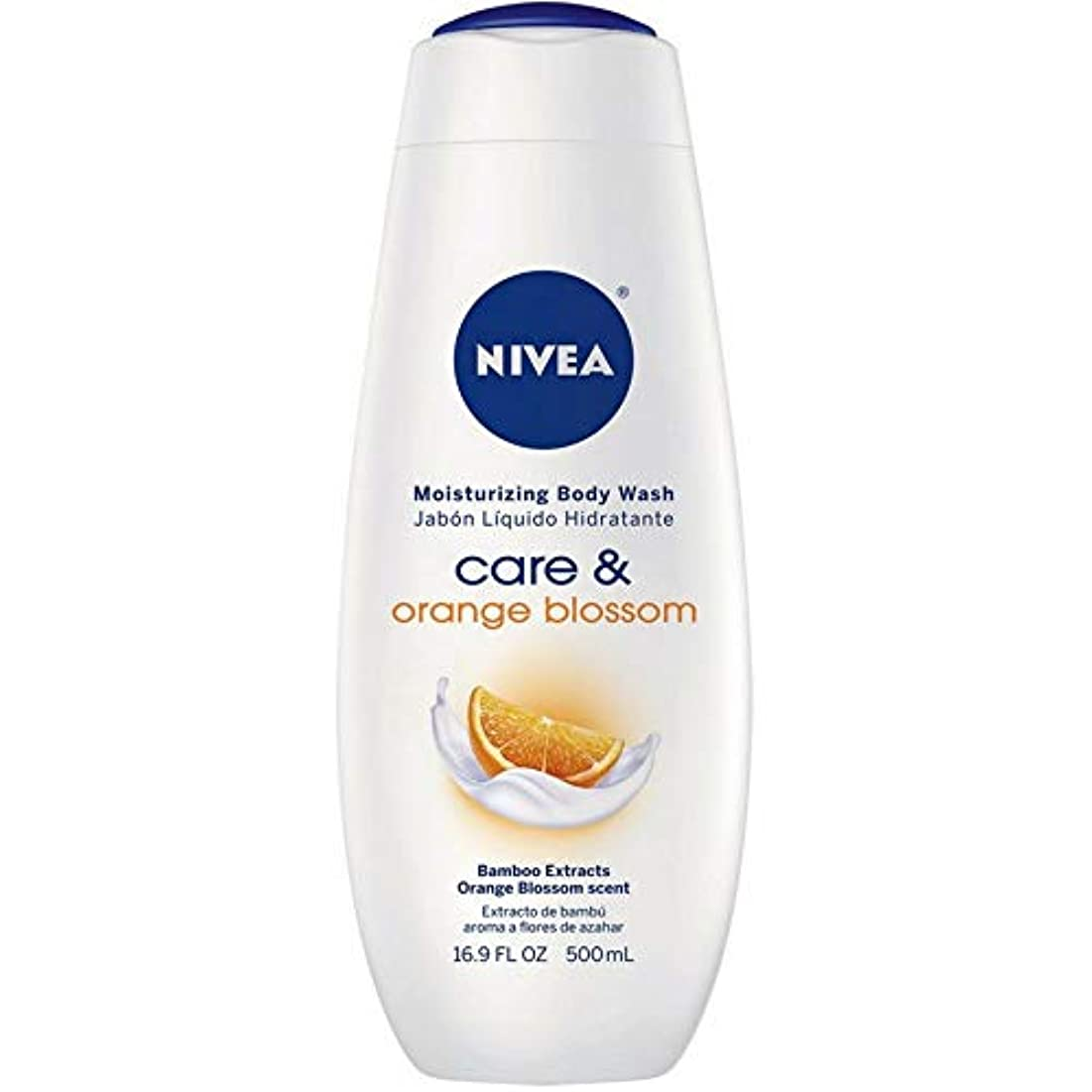 各反映する眉Nivea, Touch of Happiness, Moisturizing Body Wash, 16.9 fl oz (500 ml)