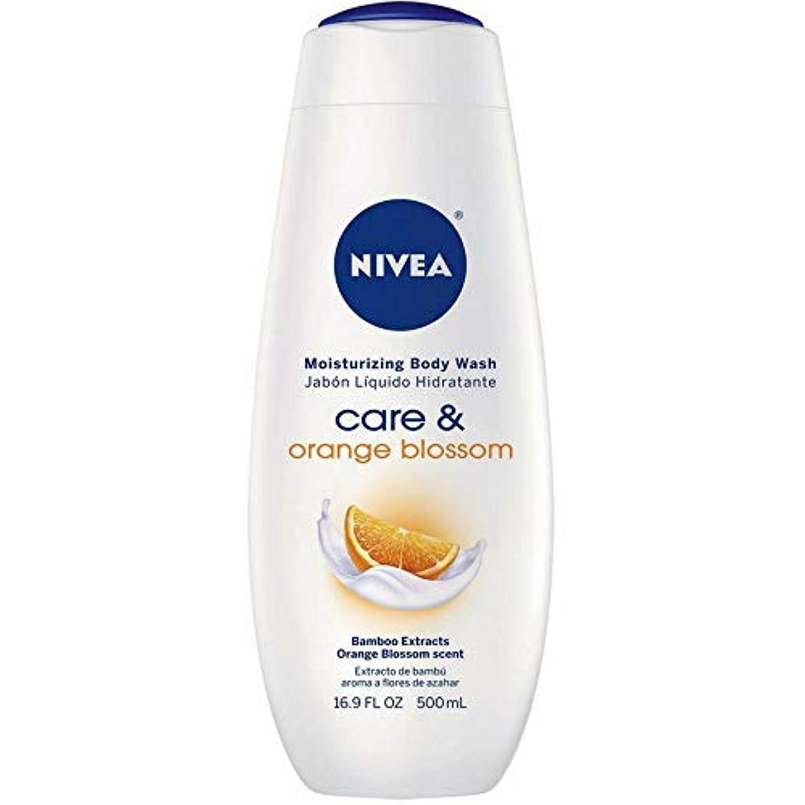 座標窓を洗う忠実にNivea, Touch of Happiness, Moisturizing Body Wash, 16.9 fl oz (500 ml)
