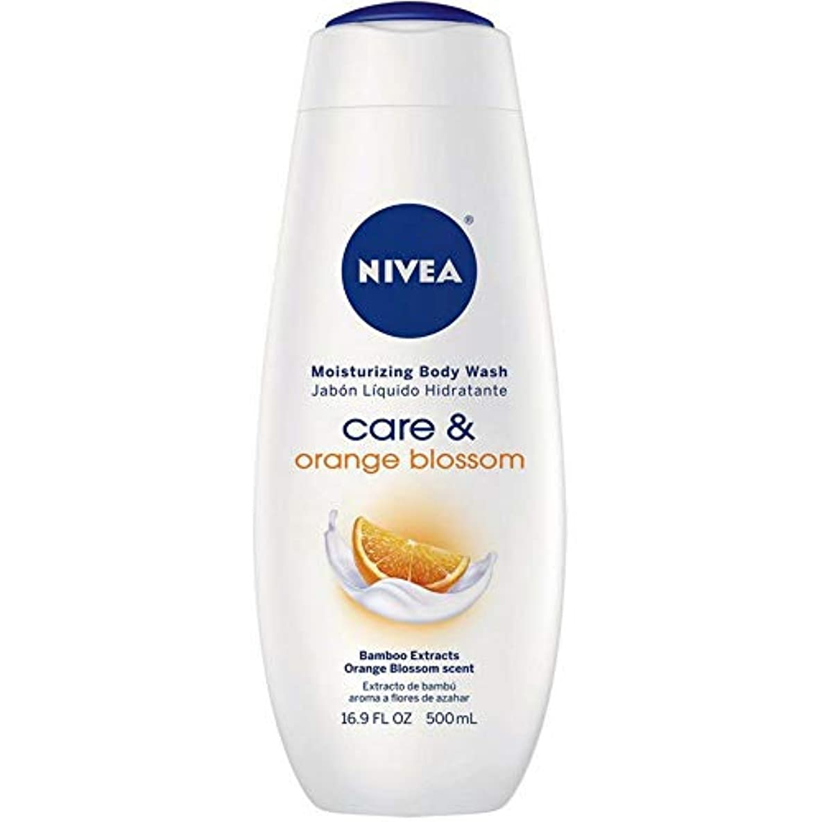 ボランティアライド階段Nivea, Touch of Happiness, Moisturizing Body Wash, 16.9 fl oz (500 ml)