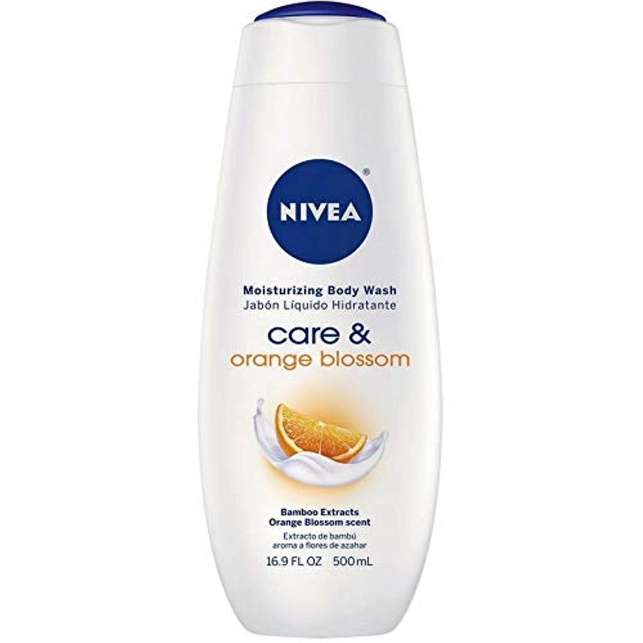 悪党悪意販売員Nivea, Touch of Happiness, Moisturizing Body Wash, 16.9 fl oz (500 ml)