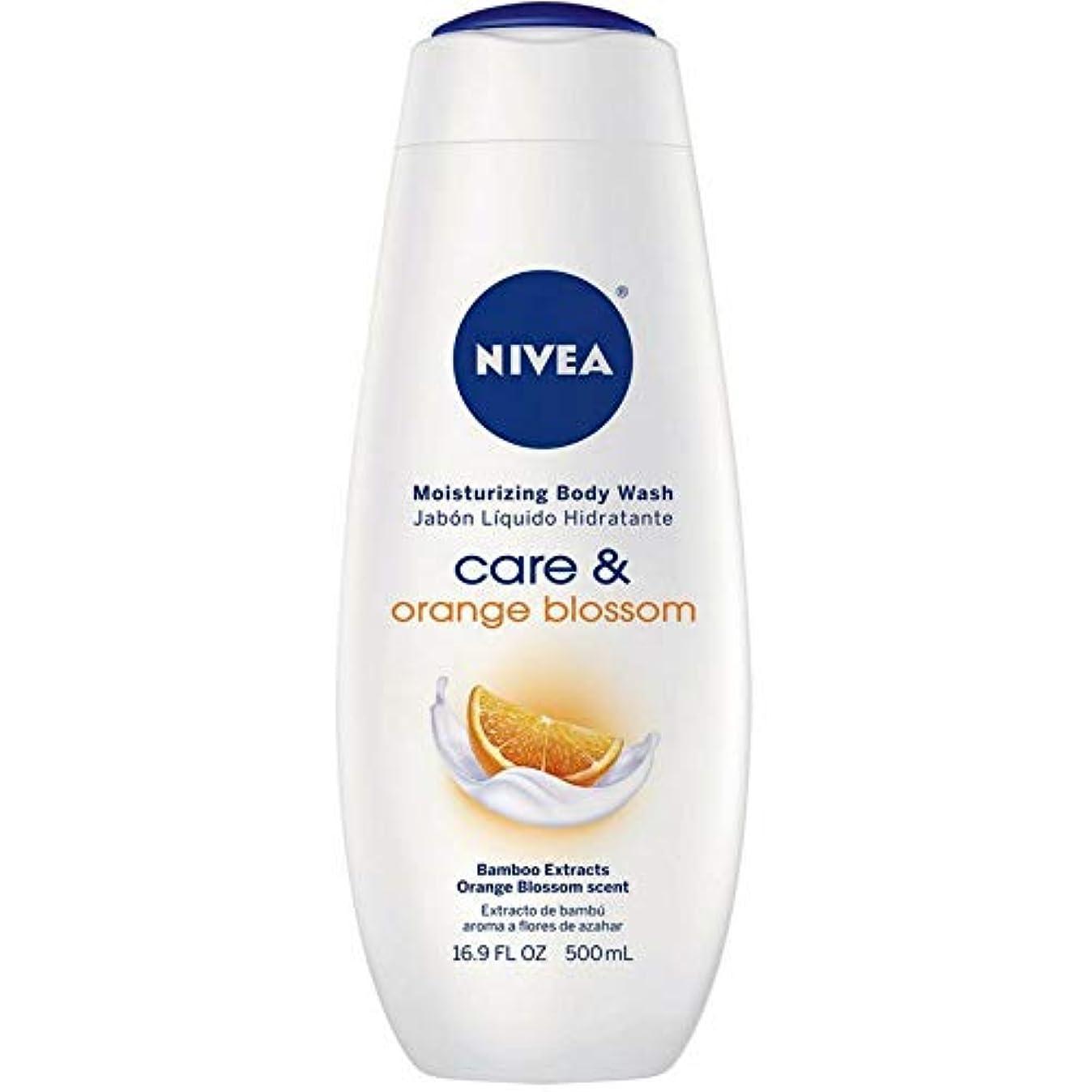 核地上の砲撃Nivea, Touch of Happiness, Moisturizing Body Wash, 16.9 fl oz (500 ml)