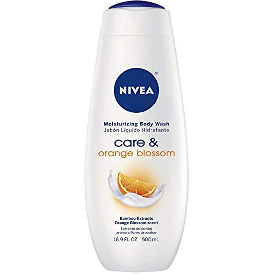 批評中庭レジNivea, Touch of Happiness, Moisturizing Body Wash, 16.9 fl oz (500 ml)
