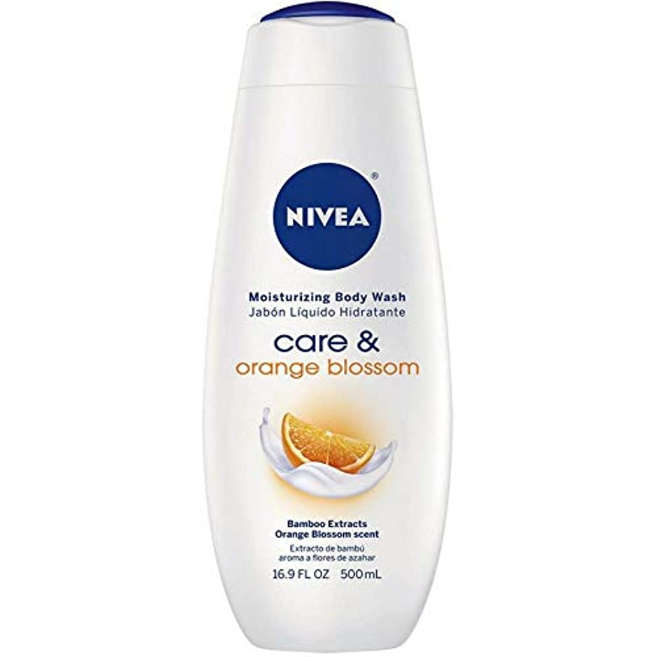 岩北極圏ほこりNivea, Touch of Happiness, Moisturizing Body Wash, 16.9 fl oz (500 ml)