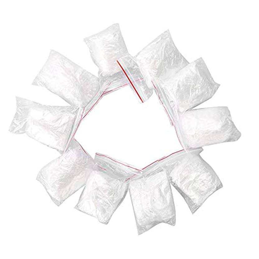 甘味ミュウミュウバーゲン使い捨てヘアダイツール Delaman208 使い捨て髪染めキット (使い捨てヘアキャップ +イヤーカバー +ショール +グローブ) 毛染め用 家庭用 作業用 透明 10点セット