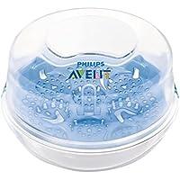 フィリップスAventマイクロ波蒸気滅菌器 (Avent) (x2) - Philips AVENT Microwave Steam Steriliser (Pack of 2) [並行輸入品]