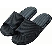 OneChange Male and Female Couple Slippers, Bedroom Slippers Non-Slip Soft Bottom Bathroom (Color : 08, Size : 41-42EU)