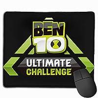 Ben10究極のチャレンジロゴ マウスパッド 25×30 大判 ノンスリップ 防水 ゲーミング おしゃれ マウスの精密度を上がる