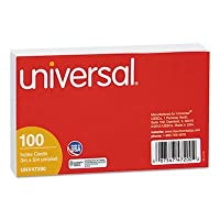 UNV47200 - Unruled Index Cards by Universal