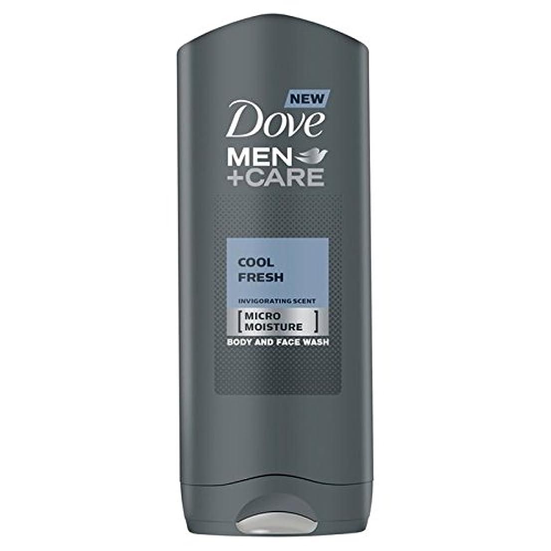 没頭するスカリー稼ぐDove Men+Care Cool Fresh Shower Gel 400ml - クールフレッシュシャワージェル400ミリリットルケア+鳩の男性 [並行輸入品]