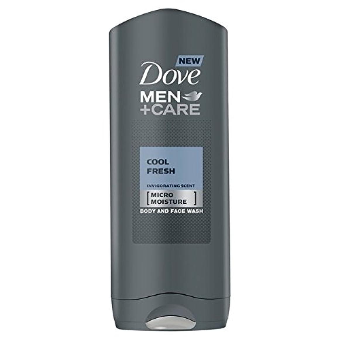 洪水起訴する犬Dove Men+Care Cool Fresh Shower Gel 400ml - クールフレッシュシャワージェル400ミリリットルケア+鳩の男性 [並行輸入品]