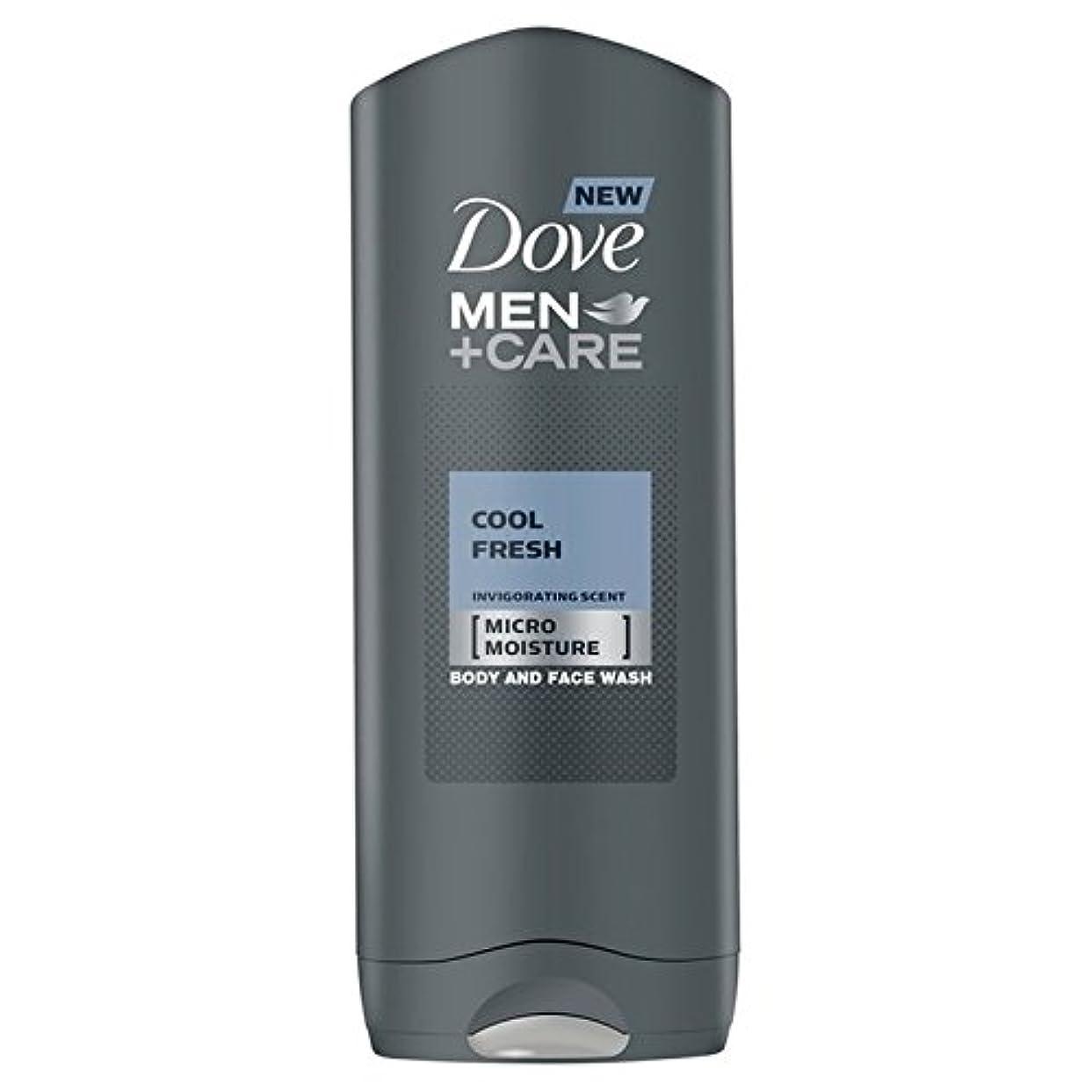 判読できない劇的理容師Dove Men+Care Cool Fresh Shower Gel 400ml - クールフレッシュシャワージェル400ミリリットルケア+鳩の男性 [並行輸入品]