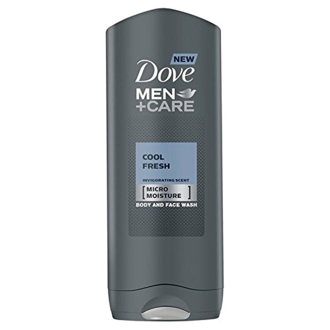 気楽なスモッグ感覚Dove Men+Care Cool Fresh Shower Gel 400ml - クールフレッシュシャワージェル400ミリリットルケア+鳩の男性 [並行輸入品]