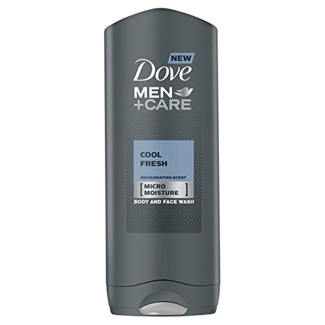 しおれた太鼓腹ディベートDove Men+Care Cool Fresh Shower Gel 400ml - クールフレッシュシャワージェル400ミリリットルケア+鳩の男性 [並行輸入品]