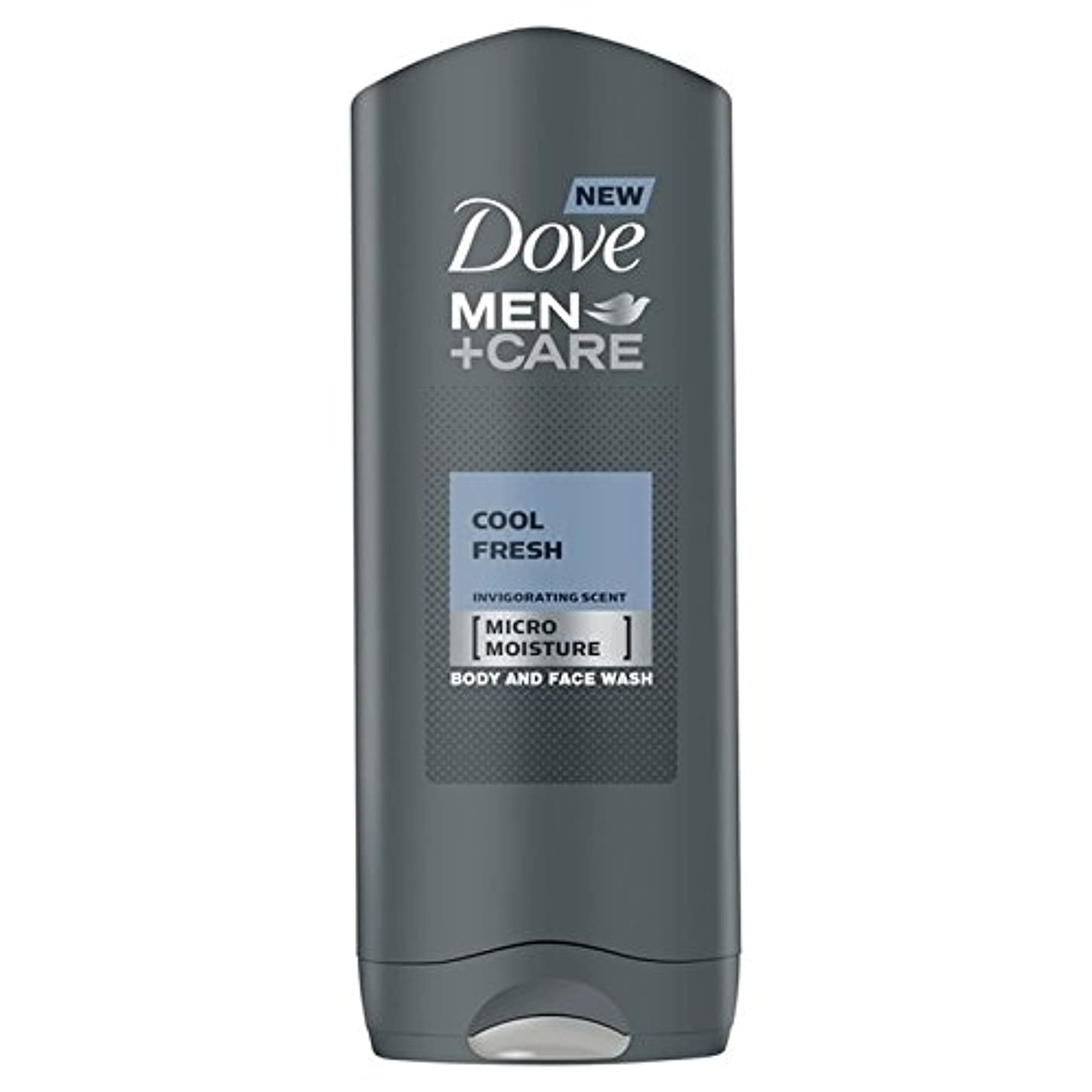 存在ペック気取らないDove Men+Care Cool Fresh Shower Gel 400ml - クールフレッシュシャワージェル400ミリリットルケア+鳩の男性 [並行輸入品]