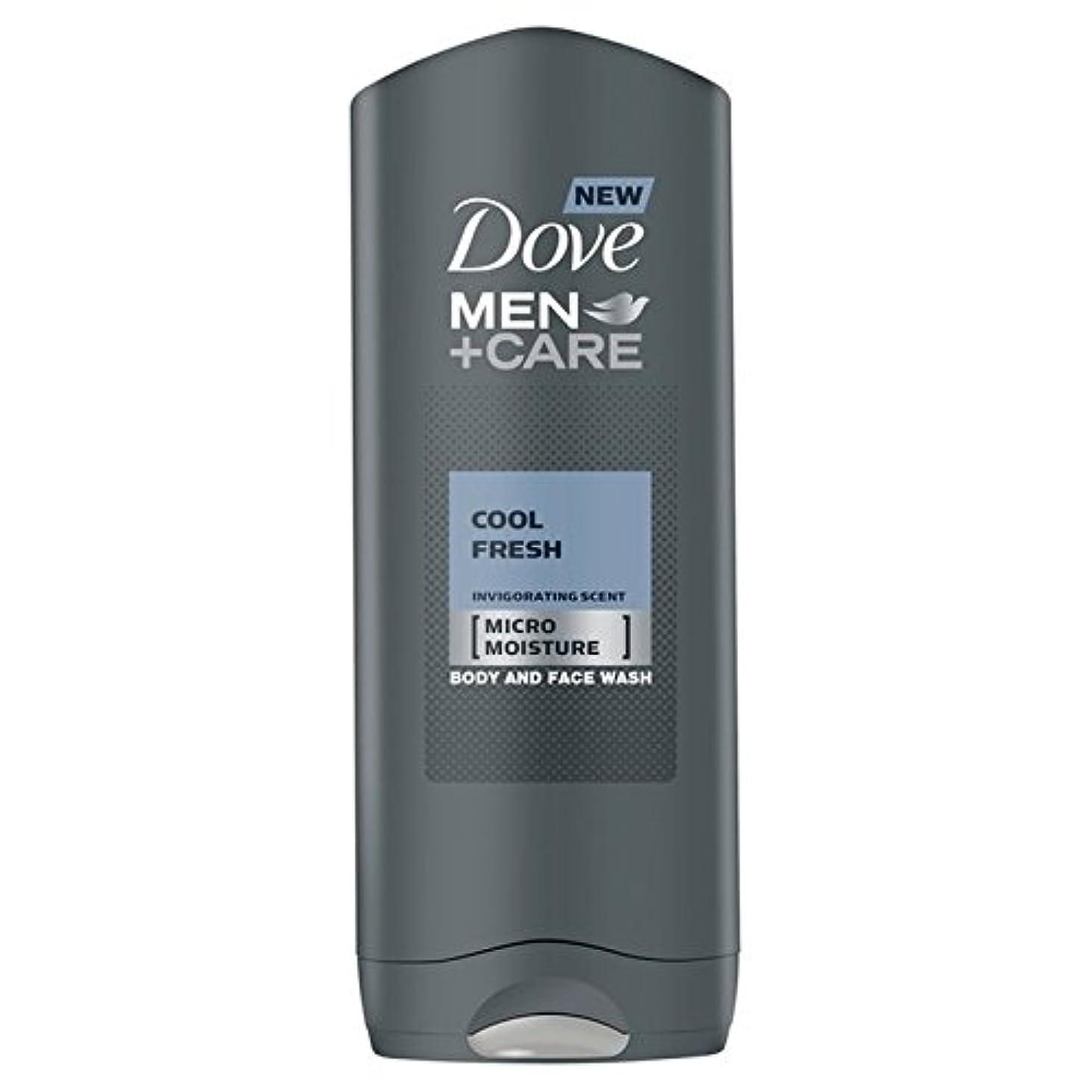 希望に満ちた女優分子Dove Men+Care Cool Fresh Shower Gel 400ml - クールフレッシュシャワージェル400ミリリットルケア+鳩の男性 [並行輸入品]