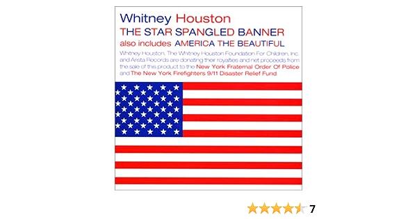 国歌 ホイットニー ヒューストン