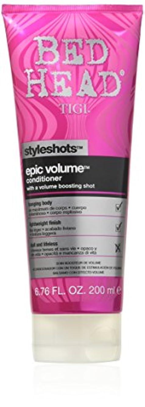 空虚父方の船員Tigi Bed Head Styleshots Epic Volume Conditioner 200 ml (並行輸入品)