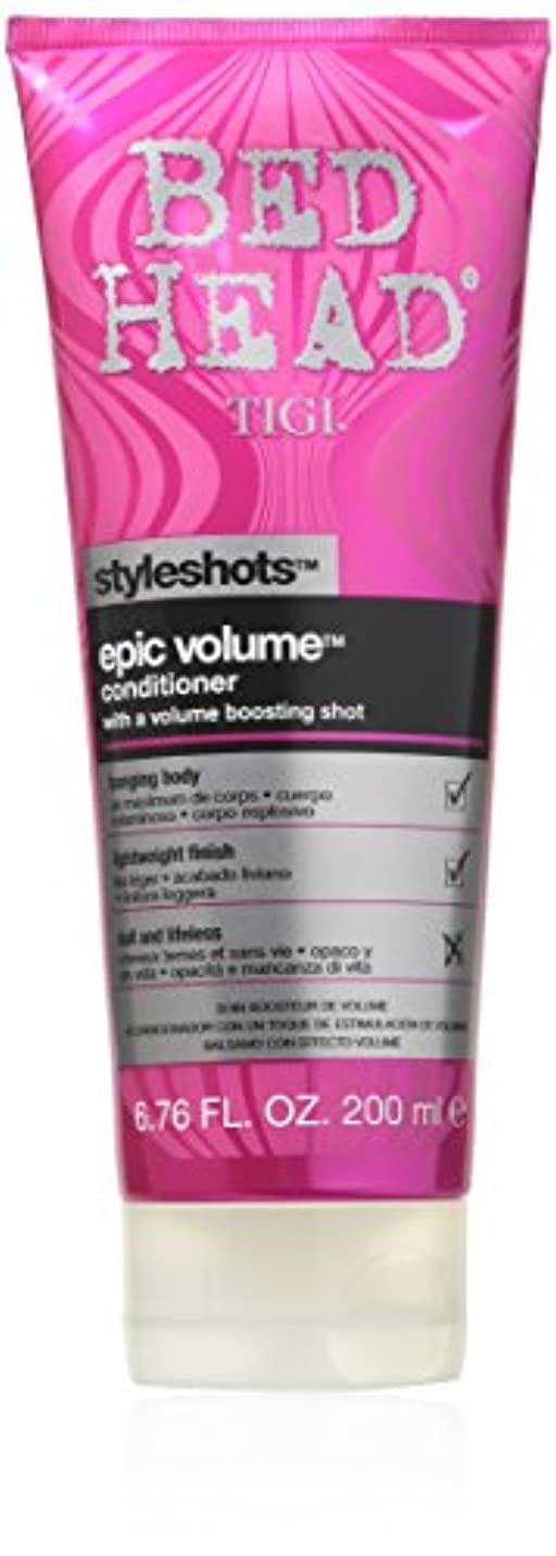 ラジウム放出ゲームTigi Bed Head Styleshots Epic Volume Conditioner 200 ml (並行輸入品)