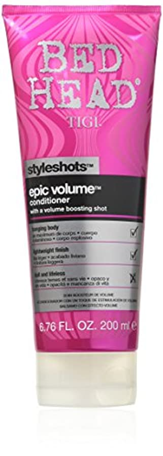 手荷物上院現代のTigi Bed Head Styleshots Epic Volume Conditioner 200 ml (並行輸入品)