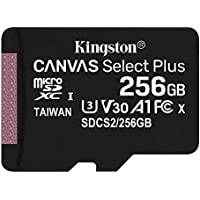 キングストン microSD 256GB 最大100MB/s UHS-I V30 A1 Nintendo Switch動作確認済 Canvas Select Plus SDCS2/256GB 永久保証