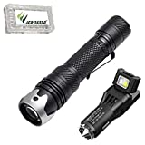 Combo: Acebeam W10 Flashlight -300 Lumens -LEP Emitter w/VCL10 Multi-Tool/Adapter