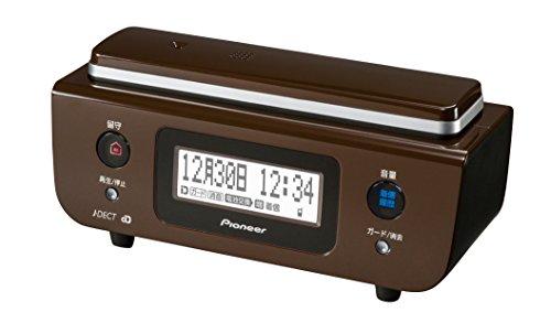 Pioneer デジタルコードレス電話機 子機1台付き 迷惑電話対策・留守番・ナンバーディスプレイ機能搭載 チョコレートブラウン TF-FD31W-T 【国内正規品】