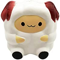 Mintu応力Reliever Sheep Squishy Slow Risingクリーム香りつきDecompression Toy Cureギフト