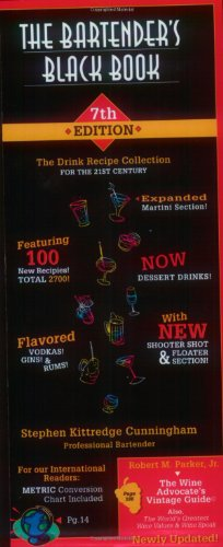 Download The Bartender's Black Book: The Drink Recipe Collection for the 21st Century 1891267752
