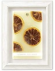 FLEURAGE(フルラージュ) アロマワックスサシェ シトラスの香り Lemon×AntiqueWhite KH-61124