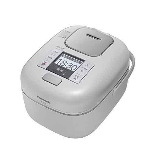 パナソニック 3合 炊飯器 圧力IH式 おどり炊き 豊穣ホワイ...