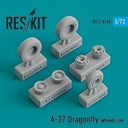 Amazonランキング 2位/レスキット 1/72 A-37 ドラゴンフライ ホイールセット プラモデル用パーツ RSK72-0168
