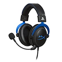 HyperX Cloud Gaming Headset - Playstation 4 - Officially Licensed by Sony Interactive Entertainment LLC for PS4™ Systems - black/Blue (HX-HSCLS-BL/AM)