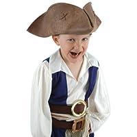 Pirates of the Caribbean - Jack Sparrow Child Hat パイレーツ?オブ?カリビアン-ジャック?スパロウの子供の帽子?ハロウィン?サイズ:One-Size