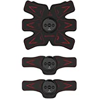[一年间保証] EMS 筋トレ 腹筋ベルト 腹筋トレーニング USB充電式 ボディフィット筋トレ フィットネスマシン筋肉 お腹 腕部 太ももエクササイズ用 ダイエット器具 ダイエットマシーン 超薄、静音 自動的に筋肉トレーニング マシーン 腹筋器具 日本語取扱説明書付き USB充電式 運動不足に向き CEとFCCに認定 Jinjiu