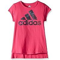 adidas Girls' Short Sleeve Graphic Tee Shirts